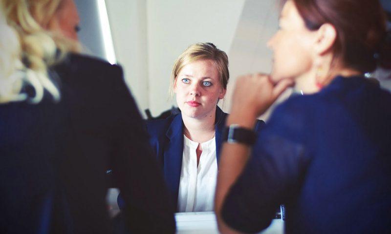 woman giving advice